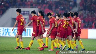 中国足球世界杯预选赛赛程 中国女足历史优势已成过去