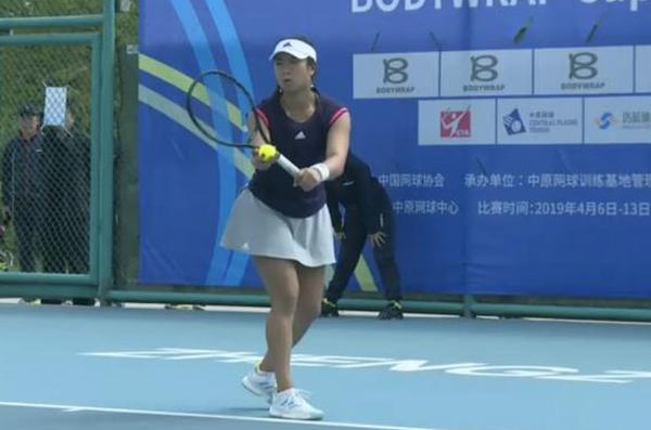全国网球团体赛王蔷王雅